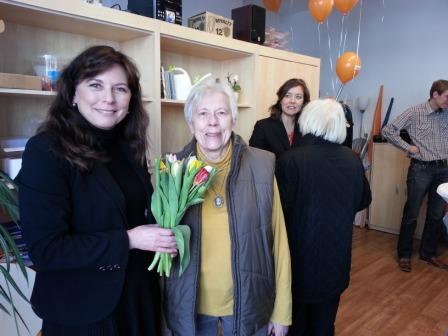 Katrin Vogel eröffnet ihr Bürgerbüro