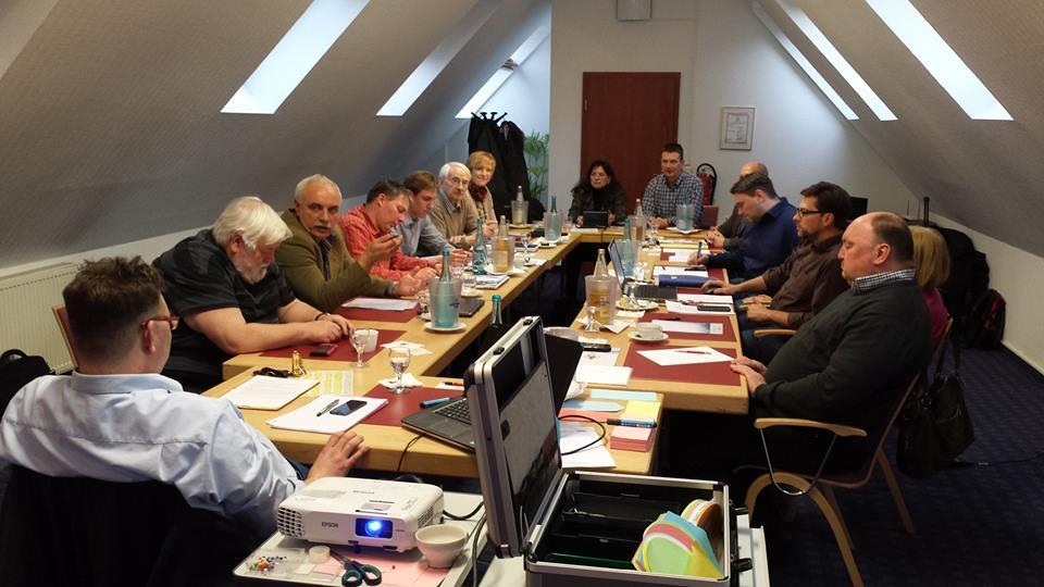 CDU-Fraktion bei der Arbeit